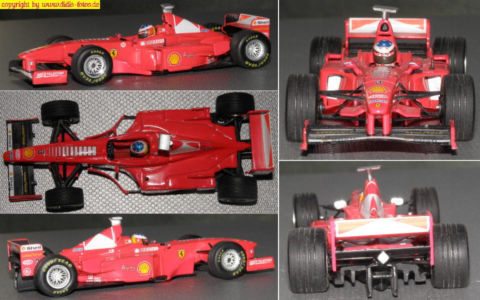 fahrzeugmodelle 1 43 metall formel 1 ferrari f300. Black Bedroom Furniture Sets. Home Design Ideas